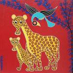Africa_Tinga-Tinga Leopard Club © Pepponi Art