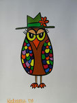 Owl_ Mr Owl © Pepponi Art