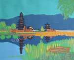 Asia_Bali_ Lake Brataan  © Pepponi Art