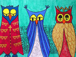 Owl_ Royal Wedding  © Pepponi Art