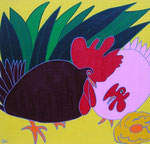 Birds_ Chicken © Pepponi Art