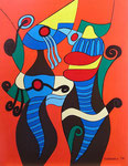 Abstract_ Old Couple © Pepponi Art