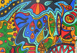 Abstract_ Coloured Fantasies © Pepponi Art