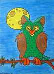 Owl_Handsome Alfred  © Pepponi Art