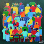 Africa_ Market © Pepponi Art