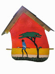 Sculpture_Birdhouse_Africa 3 © Pepponi Art
