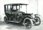 Österreichischer Daimler Motoren Gesellschaft, 28/32 HP, gebaut ab 1908.
