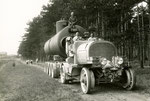 Austro Daimler C-Zug M.16 Probefahrt mit Druckkessel, gebaut ab1916.