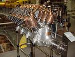 12 Zylinder Aero Daimler, Techn. Museum Wien.