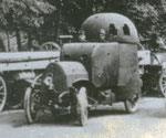 Österr. Daimler Panzerwagen gebaut 1905.