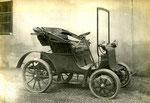 Elektrodaimler Stadtwagen mit Radnabenmotor gebaut etwa 1909
