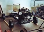Kleindraisine DVP mit Puch Motor 250ccm 1932.