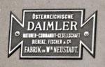 Österreichische Daimler Motoren Commanditgesellschaft Bierenz Fischer u. Co 1899-1902