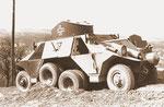 Austro Daimler ADGZ die Entwicklung des Radpanzerwagen geschah noch in Wiener Neustadt etwa 1933.