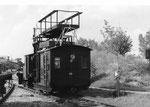 Austro Daimler Motorgerüstwagen Type BM 30T mit FB 30 Motor für Arbeiten an der Oberleitung, gebaut 1931.