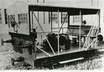 Austro Daimler Motorbahnwagen Type BM 30 mit 8Zylinder lutgekühlten Benzinmotor 30PS ausgestattet mit Zug- und Stoßvorrichtung zum Bewegen von Waggons, gebaut ca. 1930