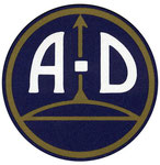 Logo für AD Fahrräder ab 1975