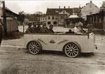 Vollbahndraisine D II/4 ab 1925 im Werk Wr. Neustadt, Motor 12PS FB4
