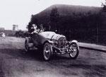 Austro Daimler Prinz Heinrich Type gebaut ab 1910, hier der Siegerwagen der PH Fahrt 1910, am Steuer Dir. Ferdinand Porsche.