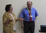 Dr. Gertrude Harrer und Dr. Georg Harrer in Ouagadougou Burkina Faso