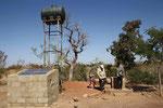 der Brunnen, die Quelle des Lebens in den Monaten der Dürre