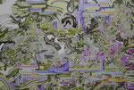 風が満ちている 2014 162.0×130.3㎝ キャンバスに油彩、ボールペン (C)Rina Mizuno