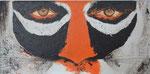 Tigeraugen - Acryl 60 x 30