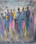 Menschen2021 - Acryl 50 x 60