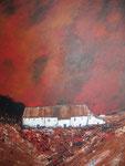 Häuser England 1 - Acryl 60 x 80 = € 140