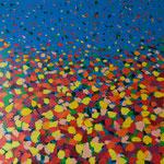 Frühlingserwachen - Acryl 100 x 100 € 180