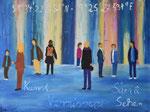 Vernissage - Acryl 80 x 60 = € 180