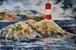 Leuchtturm  - Acryl 60 x 40 = € 140