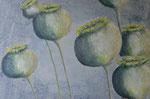 Mohnkapseln - Acryl 80 x 60 = € 150
