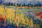 Sommertag - Acryl 60 x 40 = € 150