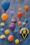 Ballons - Öl 60 x 90 € 180