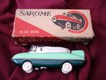 SAROME CAR BLUE BIRD SUPER LIGHTER CIRCA 1960's