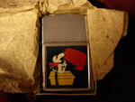 "GRUMMAN SNOOPY ""CURSE YOU GRUMMAN AIRCRAFT"" (PENGUIN LIGHTER) VIETNAM ERA CIRCA 1960's"