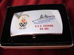USS CUSHING DD-985 CIRCA 1980's