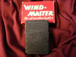 BLACK CRACKLE (WIND-MASTER MATAWAN LIGHTER) WORLD WAR II CIRCA 1940's