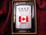 U.N.E.F. MIDDLE EAST CANADA CIRCA 1976