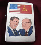 REAGAN & GORBACHEV DATED 1994