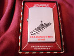 USS CHARLES R. WARE DD-865 CIRCA 1958
