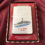 USS BRUSH DD-745 COLD WAR DATED 1958
