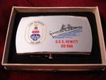 USS HEWITT DDG-966 VIETNAM ERA CIRCA 1970