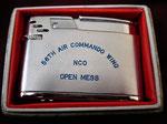 56TH AIR COMMAND WING NCO MESS BALLADE CORNADO LIGHTER VIETNAM ERA  CIRCA 1960's