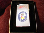 "USS NEW JERSEY BB-62 ""PRESENTED BY COMMANDING OFFICER"" BEIRUT LEBANON CIRCA 1984 REVERSE"
