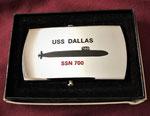 USS DALLAS SSN-700 CIRCA 1980'S