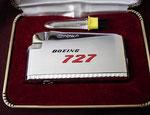 BOEING 727 CROWN JET FLAME LIGHTER CIRCA 1960's