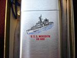 USS MEREDITH DD-890 VIETNAM ERA CIRCA 1960's