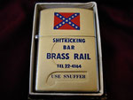 SHIT KICKING BAR BRASS RAIL YOKOSUKA VIETNAM ERA CIRCA 1960's